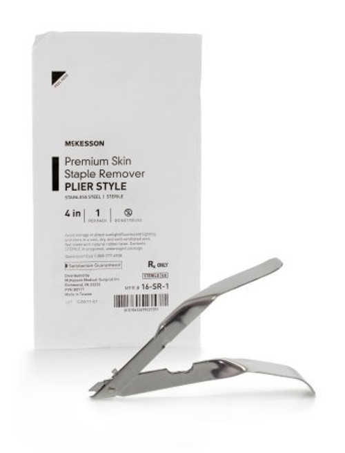 Staple Remover McKesson Stainless Steel Plier Style Handle