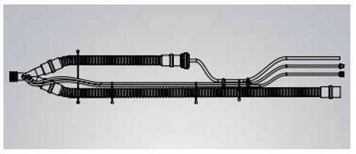 Patient Circuit w/o PEEP, Reusable 15mm