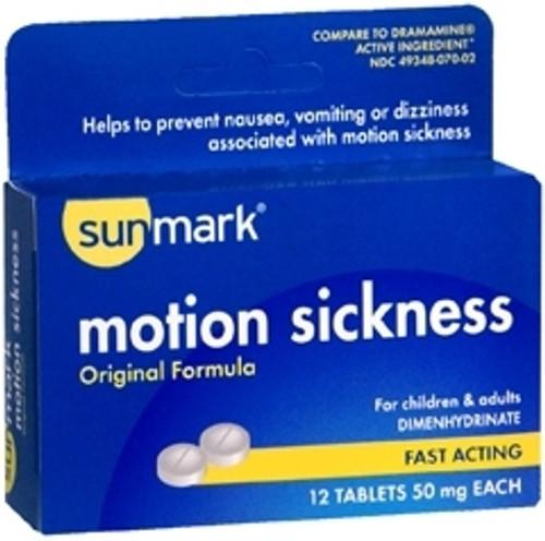 Motion Sickness Tablets