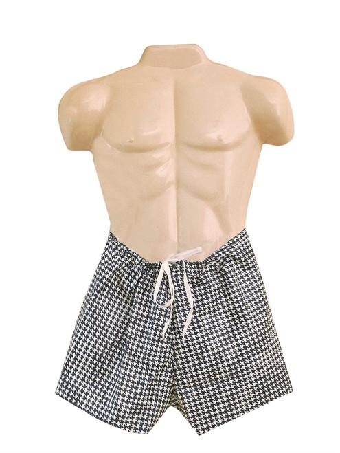 dipsters patient wear men's tiewaist shorts