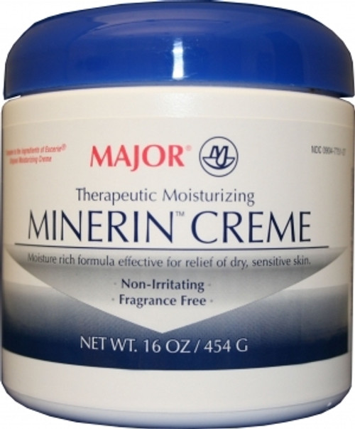 Moisturizer Minerin Unscented Cream