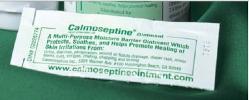 Skin Protectant Calmoseptine Individual Packet Scented Ointment
