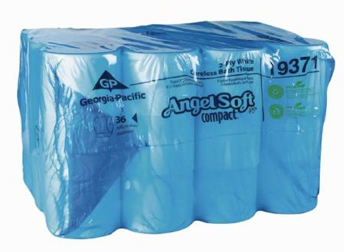Toilet Tissue Coreless Roll, Angel Soft - 36ea