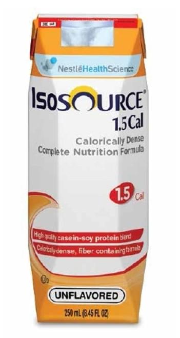 Tube Feeding Formula, Isosource - 1.5 Cal Unflavored 250 mL
