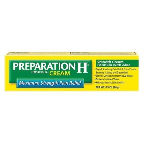 Hemorrhoid Relief Preparation H