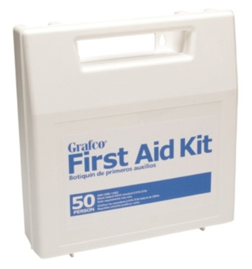 Stocked First Aid Kit - 50 Person