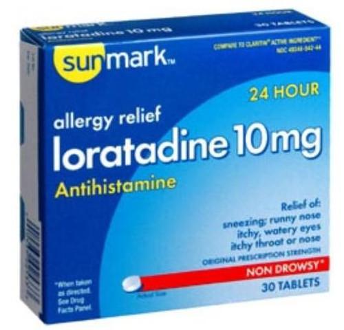 sunmark loratadine tablets