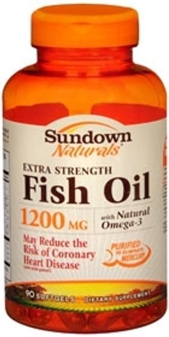 Fish Oil Supplement Sundown Naturals