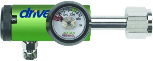 Drive Oxygen Regulator Click Style LPM DISS