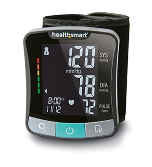Talking Automatic Digital Wrist Blood Pressure Monitor