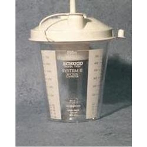 Suction Cannister with Float Valve Shut Off, 800cc
