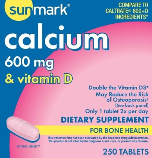 Calcium with Vitamin D Tablets