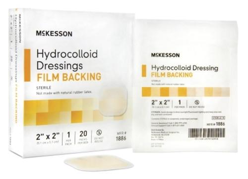 Hydrocolloid Dressing McKesson Square Sterile
