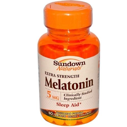 Melatonin Supplement Sundown Naturals