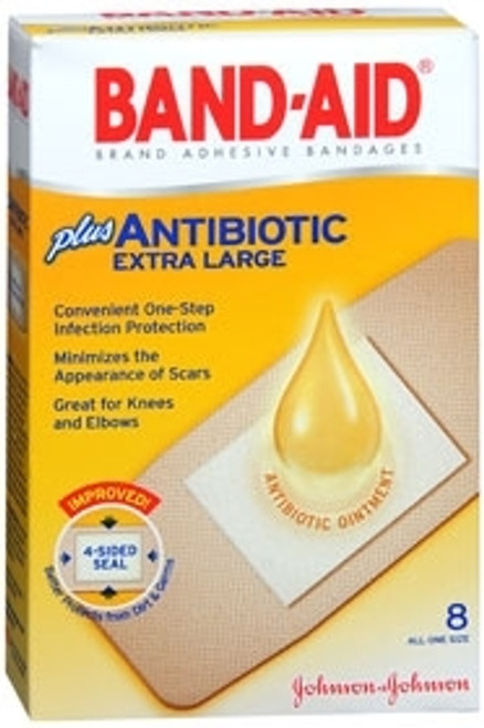 Adhesive Strip Band Aid Plastic Rectangle Tan Sterile