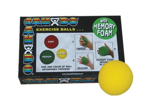 cando memory foam squeeze ball