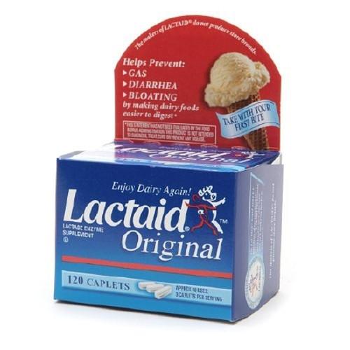 Lactase Enzyme Supplement Lactaid