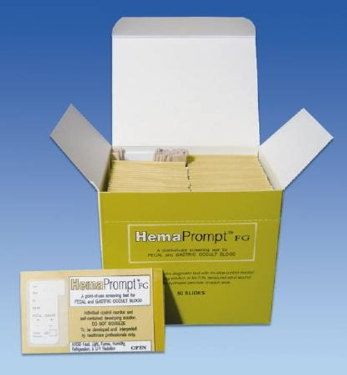 Fecal and Gastric Occult Blood Test Kit, HemaPrompt - 50 Tests