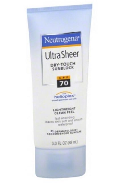 Sunblock Neutrogena Ultra Sheer SPF