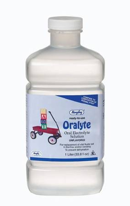 Oral Electrolyte Solution, Oralyte - Unflavored 33 oz.