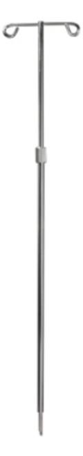 Bed Socket Telescoping I.V. Pole