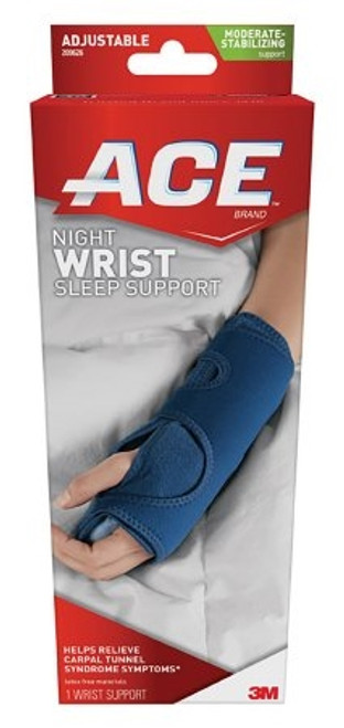 Wrist Support ACE Adjustable Palmar Stay Left or Right Hand Navy
