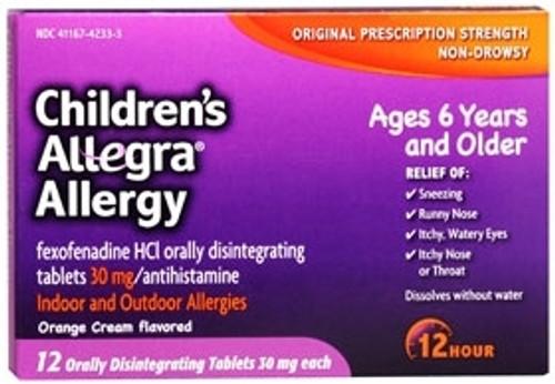 Allergy Relief Children's Allegra
