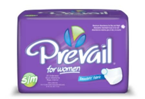 Classic Fit Female Protective Underwear, Prevail - Elastic Waist