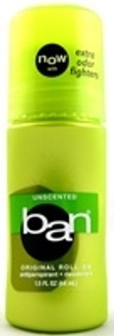 Antiperspirant Deodorant Ban RollOn Unscented