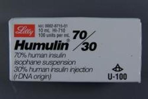 Humulin Mdv 70-30U/Ml 10M