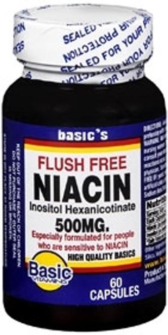Niacin Supplement Basic's 500 mg