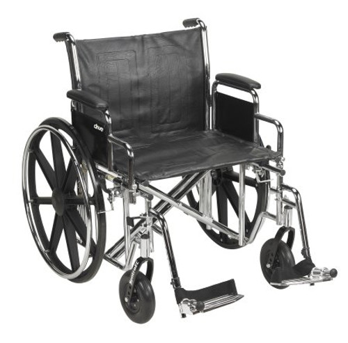 mckesson heavyduty wheelchair swing away footrests