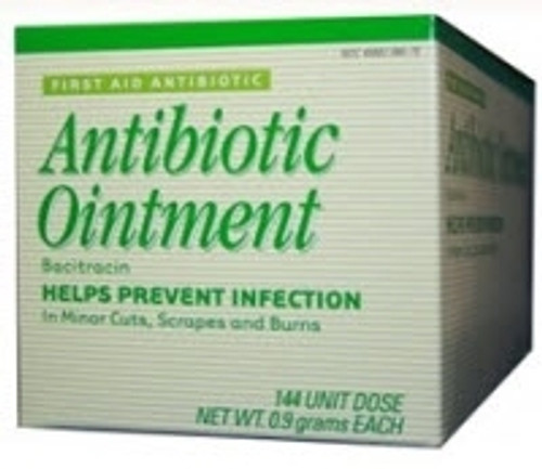 First Aid Antibiotic 0.9 Gram Ointment Individual Packet