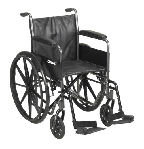 mckesson standard wheelchair swing away footrests