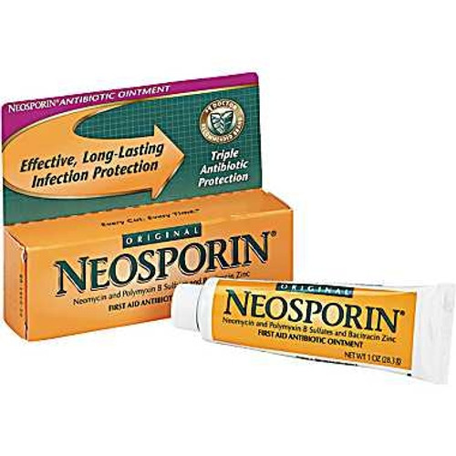 First Aid Antibiotic, Neosporin - 1 oz.