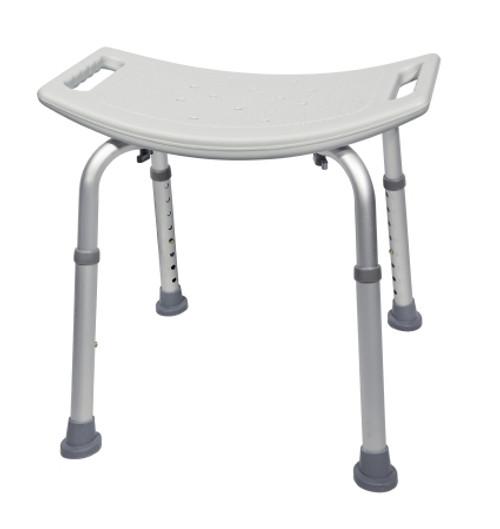 mckesson aluminum bath bench