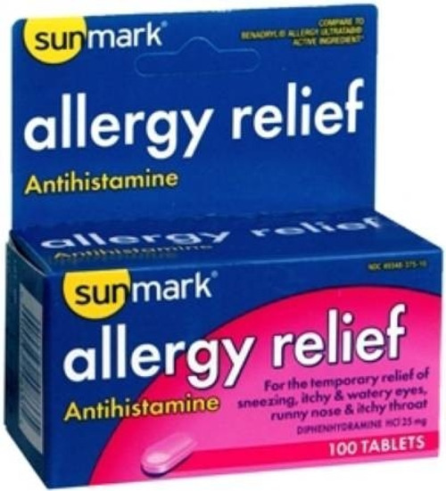 sunmark Allergy Relief Tablets