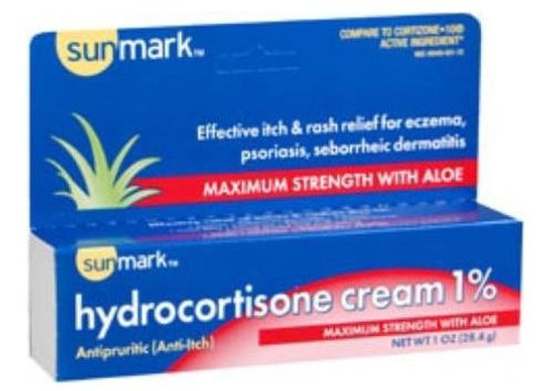 sunmark hydrocortisone cream