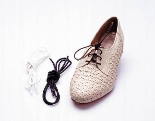 Elastic Shoelaces, Black - 10 pairs
