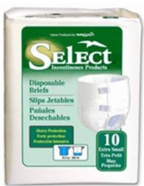 "Ultrablend Brief Tranquility, Select - 45""-58"" Heavy Absorbency"