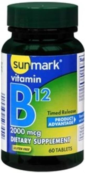 Vitamin B-12 Supplement, sunmark - 2000 mcg