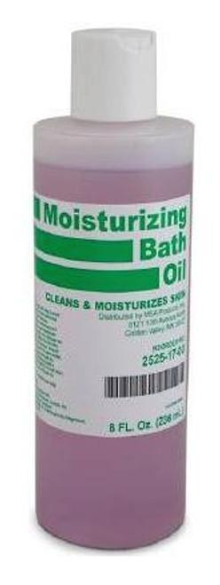 msa moisturizing bath oil