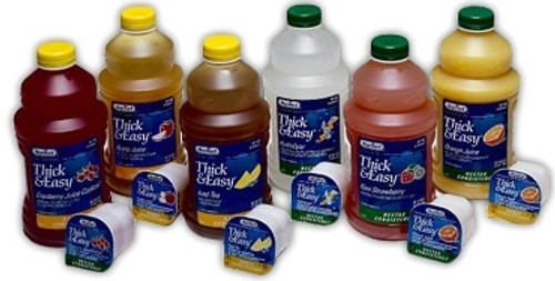 Thickened Beverage Thick & Easy 48 oz. Bottle Kiwi Strawberry Flavor