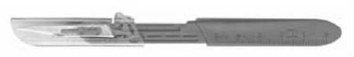 Scalpel with Disposable Stainless Steel Blade, BD Bard-Parker - Size 15