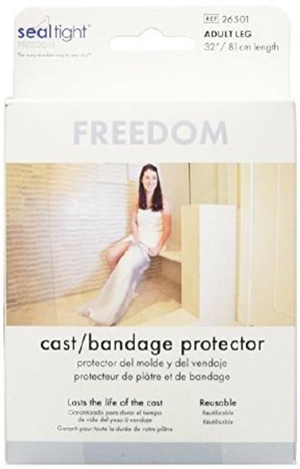 Full Leg Cast Protector SEAL-TIGHT Polyvinyl