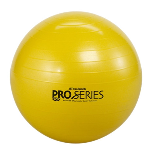 theraband inflatable exercise ball pro series scp