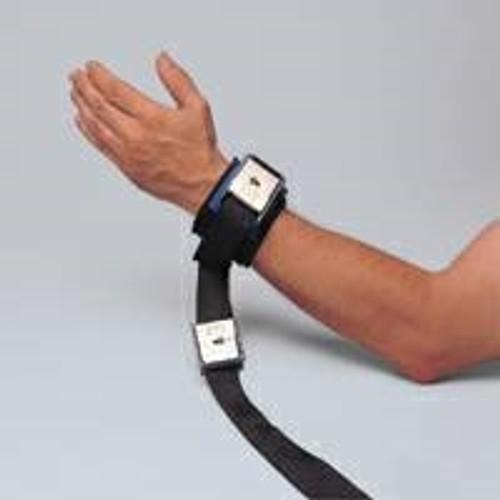 Wrist Restraint Twice-as-Tough Cuffs Buckle Lock 1-Strap