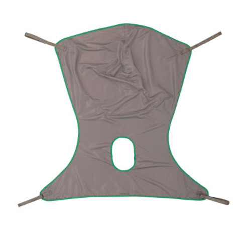 Sling Comfort w/Commode Poly Large