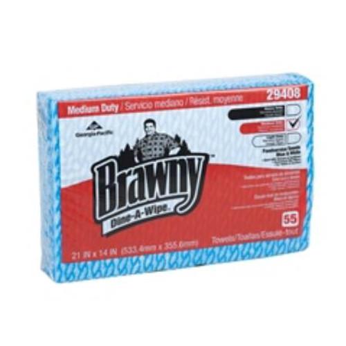 Brawny Foodservice Wipe, Medium Duty