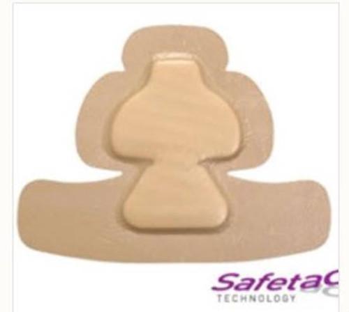 Foam Dressing Mepilex Border Heel Adhesive with Border Sterile